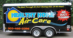 Healthy Home Air Care Cleaning Trailer