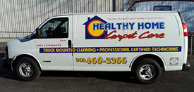 Healthy Home Truck Mounted Cleaning Van